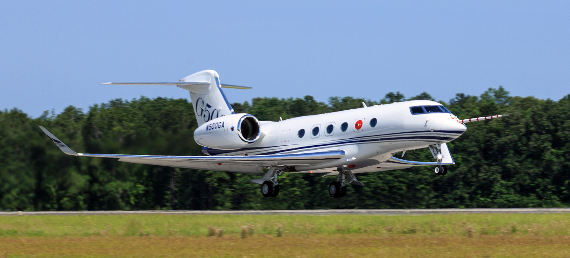 Gulfstream G500 First Takeoff