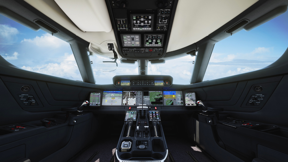 Gulfstream G500 Cockpit