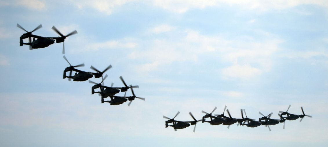 ospreys formation