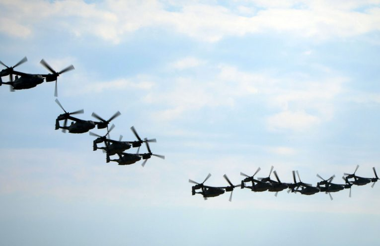 ospreys formation